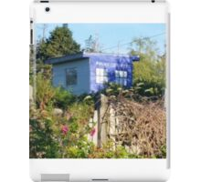 Dr. Who on Monhegan Island? iPad Case/Skin