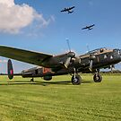 Three Lancasters #3 by Colin Smedley