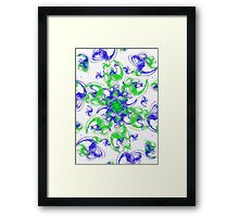 Symmetrical Swirl  Framed Print