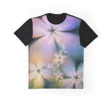 Guardian Angel Flowers Watching Graphic T-Shirt