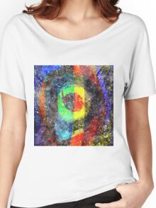 Chaos Textured Abstract 3 Women's Relaxed Fit T-Shirt
