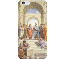 School of Athens iPhone Case/Skin