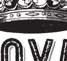 Royal Bitxh Vintage Crown  Sticker