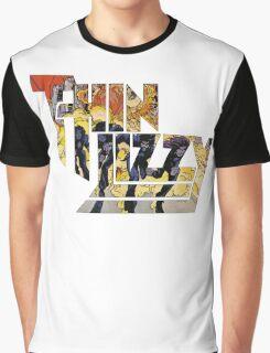 TIN LIZZY JAILBREAK Graphic T-Shirt