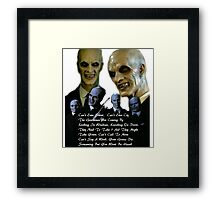 Gentlemen Buffy Framed Print