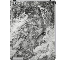Black And White Tempest Abstract iPad Case/Skin