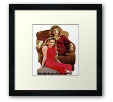 Glory Buffy Framed Print