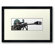 Sinon SAO Framed Print