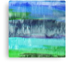 Aqualand Abstract Canvas Print