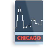 Windy City Wonder Metal Print