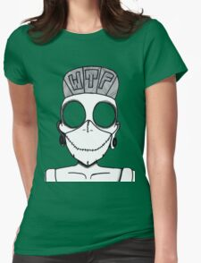 The Blind Psycho Duck  Womens Fitted T-Shirt