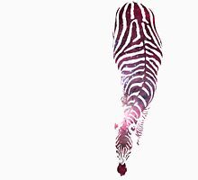 Abstract Zebra - version 6 - space Unisex T-Shirt