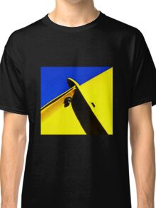 abstract blue & yellow Classic T-Shirt