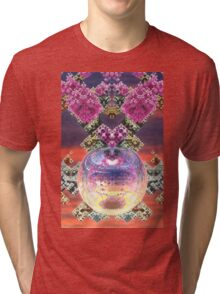Reflecting Mechanism Tri-blend T-Shirt