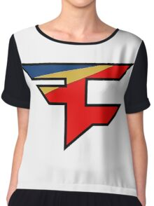 Official Faze Clan Logo Chiffon Top