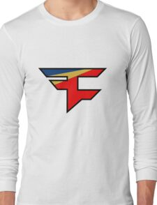 Official Faze Clan Logo Long Sleeve T-Shirt