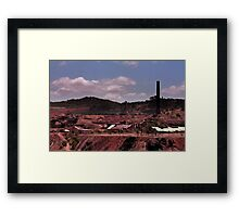 The Old Gold Mine (please view larger) Framed Print