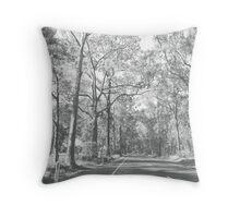 Appin Road - Mono Throw Pillow