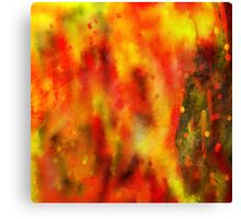 Burned - Abstract Painting Canvas Print