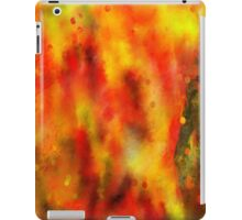 Burned - Abstract Painting iPad Case/Skin