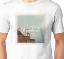 Golden Gate Bridge, San Francisco Unisex T-Shirt