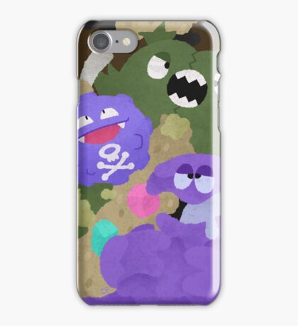 Trash-Eatin' Stinkbags iPhone Case/Skin
