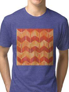 Chevron - Brushfire Tri-blend T-Shirt