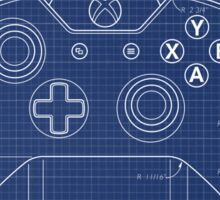 XBOX One Controller Blueprint Sticker