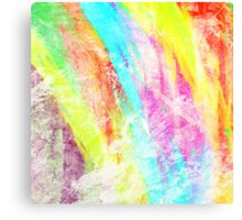 Abstract Rainbow #IX Canvas Print