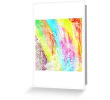 Abstract Rainbow #IX Greeting Card