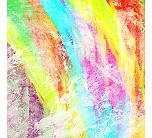 Abstract Rainbow #IX Photographic Print