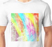 Abstract Rainbow #IX Unisex T-Shirt