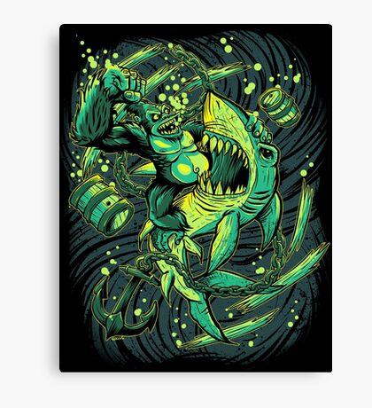 Beast Brawl prints Canvas Print