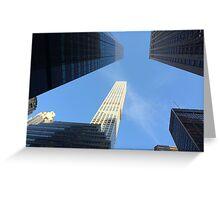 432 Park Avenue Skyscraper, New York City Greeting Card