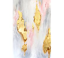 Gold Marble Photographic Print