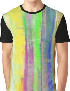 Rainbow Stripes Graphic T-Shirt