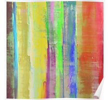 Rainbow Stripes Poster