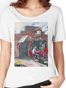 'SMELLY CAT COFFEEHOUSE' Women's Relaxed Fit T-Shirt