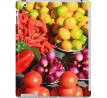 Colorful Fruits and Vegetables iPad Case/Skin