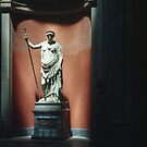 Demetrio by Phidias -420 roman Copy Vatican Museum Rome Italy 19840718 0027 by Fred Mitchell