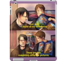 snk parks xover iPad Case/Skin