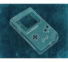 Distressed Nintendo Game Boy - BlueGreen Photographic Print