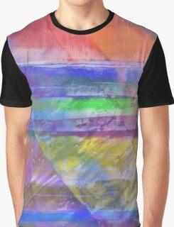 Rainbow Diamond Graphic T-Shirt