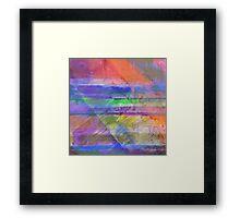 Rainbow Diamond Framed Print