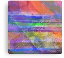 Rainbow Diamond Canvas Print