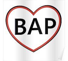 BAP heart Poster