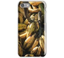 Plantains at the Market iPhone Case/Skin