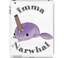 imma Narwhal iPad Case/Skin