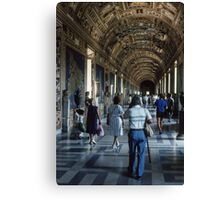 1580 Hall of Maps Vatican Museum Rome 19840718 0030 Canvas Print
