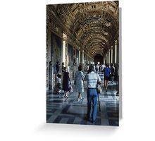1580 Hall of Maps Vatican Museum Rome 19840718 0030 Greeting Card